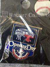 2013 Opening Day Pin #4 Yankee Stadium New York Yankees Boston Red Sox