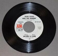 DOUG DILLARD & GENE CLARK Out on the Side/Train 1968 A&M rare Byrds folk psych V