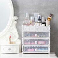 Cosmetic Drawer Organizer Makeup Jewelry Box Desktop Sundry Storage Container