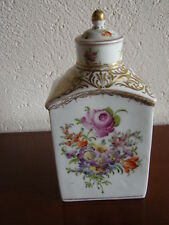 POT A THE PORCELAINE DE DRESDE - DRESDEN PORCELAIN