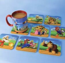 8 x Super Mario 3D Lenticular Beer Drinks Coffee Coaster Table Mats