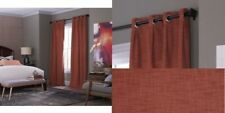 allen+roth Winbourne 84-in Spice Polyester Grommet Blackout Thermal Lined Panel