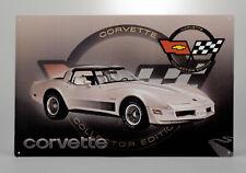 1982 Corvette C3 Collector Edition Tin Sign 656904