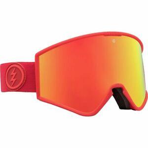 Elektrisch Visual Kleveland Heat Snowboarding Goggles (Brose / Red Chrome)