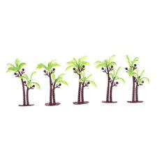 5PCS Dollhouse Miniature Model Tree Dollhouse Scenery Layout Landscape Tree PLZY