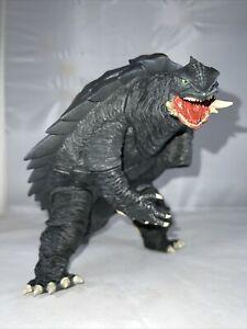 """GIANT 1999 X-Plus GAMERA DAIEI KAIJU 9"""" Tall 17"""" Head To Tail Godzilla RARE!"""