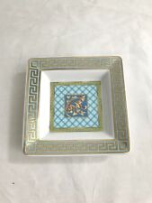VERSCAE ROSENTHAL GREEK KEY SQUARE PORCELAIN TRAY FOR MEDUSA PLATE