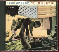 EARTH WIND AND FIRE - SYSTEM OF SURVIVAL - USA PROMO MAXI CD [2449]