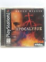 Apocalypse PS1 Playstation 1 Complete, Game, Case and Manual