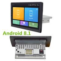 "9"" Android 8.1 1Din Auto Radio GPS Wifi 4-Core RAM1GB ROM16GB Verstellbare Höhe"