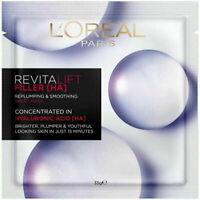 LOreal Revitalift Filler HA Replumping & Smoothing Sheet Mask - FREE POST