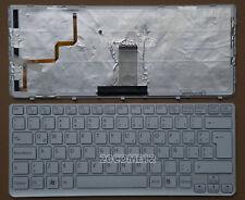 New For SONY VAIO SVE14111ELW SVE14112ELW Keyboard Latin Spanish backlit White