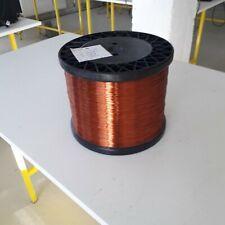 Enamelled copper winding wire