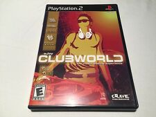 Ejay Clubworld (Playstation PS2) Original Black Label Complete LN Perfect Mint!