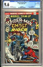Marvel Team-Up #15  CGC 9.6 OWW NM+ 1975 Spider-Man Ghost Rider 1st app Orb