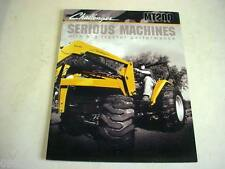Caterpillar Challenger MT200 Series Tractors Color Brochure 16 Pages          b1