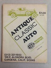Antique Classic Auto Engine Chassis Parts Brochure - EGGE Machine Company