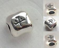 AUTHENTIC GENUINE Pandora Retired & Rare Chinese Peace Symbol Charm 790191