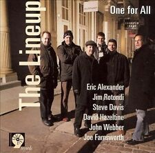 Alexander, Eric, One for All, The Lineup, Excellent
