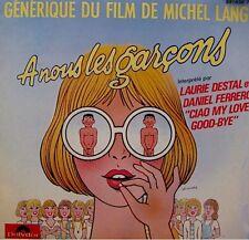 LAURIE DESTAL/DANIEL FERRERO cio my love, good-bye/instrumental BP LANG SP EX++