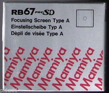 Mamiya RB 67 PRO SD / PRO S  TYPE A / 6x8 FOCUSING SCREEN (when using 6x8 back)