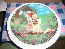 Hummel Danbury Plate Cinderella Gentle Friends