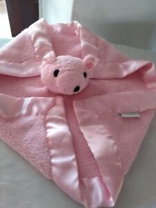 tadpoles comfort blanket pink soother for baby