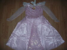 NEW PRINCESS AURORA Girls FANCY DRESS 6/6x Disney Store SLEEPING BEAUTY Costume