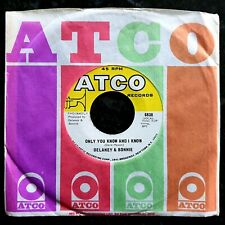 Delaney & Bonnie - Only You Know And I Know - Ex Condition 1971 US 7""