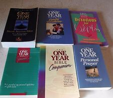 One Year Bible+Family Devotions+Personal Prayer+Companion+Girls+Journal Christia