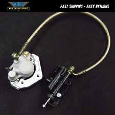 Pitster Pro Rear Back Brake Assembly Caliper Line Hose Master Cylinder