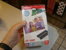 Cannon KP-1081P Contact Photo 108 sheets 3 color cassette sealed box FAST SHIP