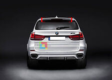 BMW X5 F15 REAR SPOILER ON THE ROOF FOR AN AERODYNAMIC LOOK - MATTE BLACK