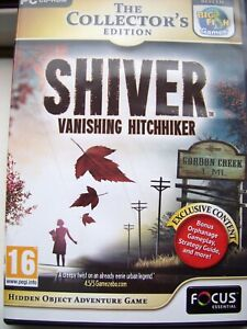 SHIVER---VANISHING HITCHHIKER---COLLECTOR'S EDITION--HIDDEN OBJECT--PC CD--MINT