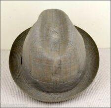 Vintage Chapeau T. 54 ou 6 ½ CRAMBES Prince de Galles Taille 54 ou 6 ½ TTBE