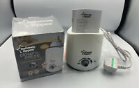 Tommee Tippee Closer to Nature Electric Baby Bottle & Food Warmer - White NEW