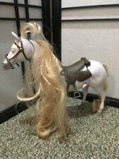 DISNEY RAPUNZEL TANGLED HORSE MAXIMUS PRINCESS RAPUNZEL'S HORSE TOY DOLL MOVES