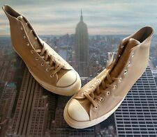 Converse Chuck 70 Hi High Top Leather Champagne Tan Mens Size 13 163328c New