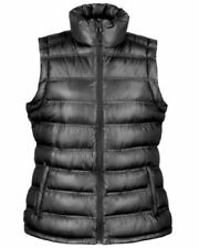 Abrigos y chaquetas de mujer chaleco color principal negro de poliéster
