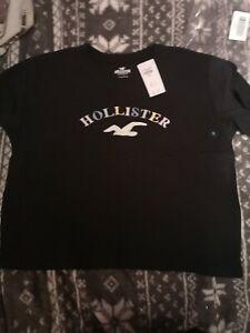 BNWT women's Hollister cropped Tshirt Size S (8-10)