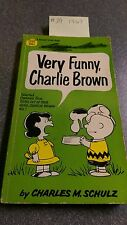 #29 VERY FUNNY CHARLIE BROWN 1967 Comic Book Charles Schultz Peanuts
