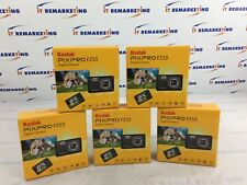 Lot of (5x) Kodak FZ53-BK PIXPRO 16MP 2.7in. Digital Cameras - Black