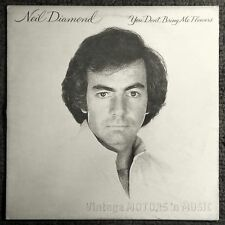 Neil Diamond - YOU DON'T BRING ME FLOWERS LP Columbia FC-35625 Vintage 1978
