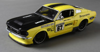 Maisto 1:24 1967 Ford Mustang GT Diecast Model Racing Car Vehicle NEW IN BOX