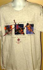 Salt Lake 2002 Olympic Games Snowboarding Giant Salalom Park City T-shirt Men XL