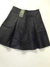 NWT Ralph Lauren Indigo Coated Cotton Flare Skirt 2 NEW $125
