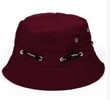ANT Bucket Waway Cap Adjustable and Reversible Unisex Hat - MAROON