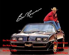Smokey & The Bandit 8X10 Photo Man Cave Burt Reynolds Pontaic Trans AM DECOR PIC