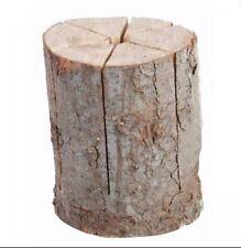 Schweden Feuer Garten 2 x Fackel Terassen Ofen Holz ca.20x25 cm Gast Geschenk