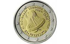 """SLOWAKIJE SPECIALE 2 EURO 2009 UNC:  """"20 JAAR VRIJHEID EN DEMOCRATIE"""""""